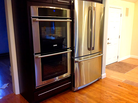 kitchen appliance install 06