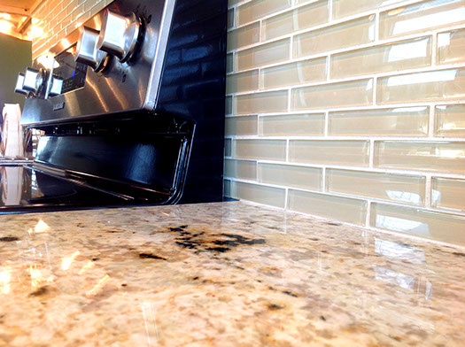 counter top installation 10
