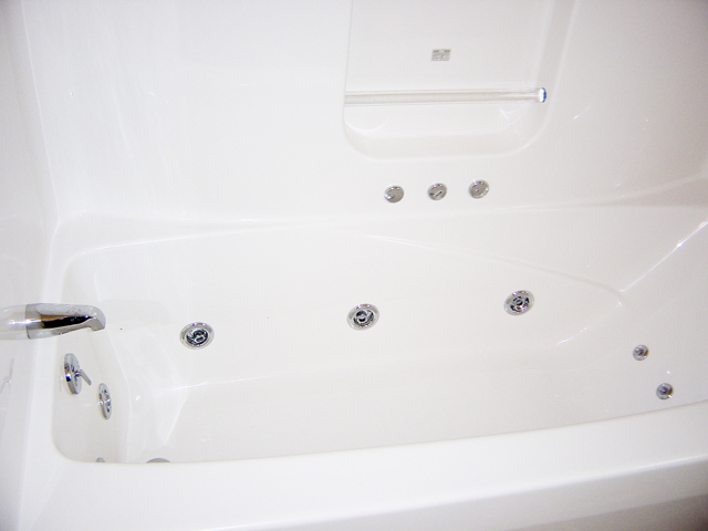 tub installation